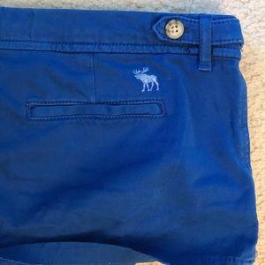Abercrombie khaki navy shorts